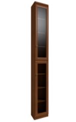 Глазовская мебельная фабрика Марракеш 12 для книг (фасад стекло)