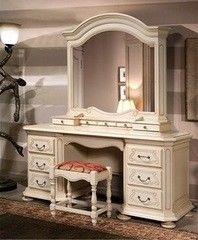 Туалетный столик Гомельдрев Босфор ГМ 6244 (слоновая кость/патинирование)
