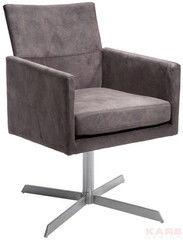 Офисное кресло Офисное кресло KARE Design Swivel Arm Chair Dialog Brown 76440