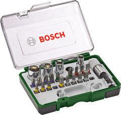 Столярный и слесарный инструмент Bosch Набор торцевых головок и бит Promoline (2607017160)