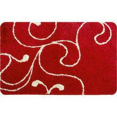 Iddis Коврик для ванной Flower Lace Red 411M690i12