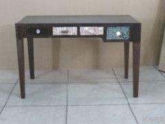 Письменный стол Kare Desk Chalet 120x60cm 4 Drawers Copper 79224