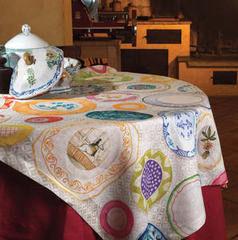 Tessitura Toscana Скатерть Limoges 170x170
