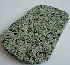 Резиновая плитка Regupol Черно-серо-зеленый