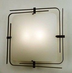 Настенно-потолочный светильник Citilux Спутник CL939201 Венге + Белый