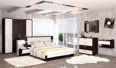 Спальня Мебель-Неман Барселона (вариант комплектации 2)