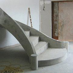Услуга Устройство монолитных лестниц