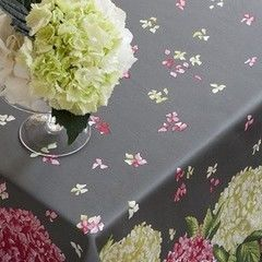 Beauville Скатерть Hortensias Pink/Grey 170х270