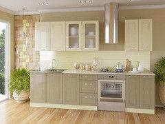 Кухня Кухня Артем-мебель Оля Минимал капучино/ваниль 1,8м