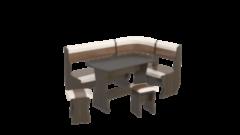 Кухонный уголок, диван ТриЯ Уют-1 К Люкс (венге)