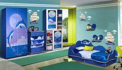 Детская комната Детская комната Калинковичский мебельный комбинат Набор мебели Дельфин