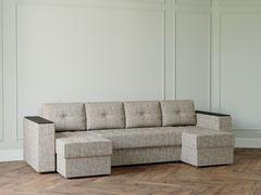 Диван Диван Настоящая мебель Ванкувер Лайт с декором (модель: 0000) бежевый