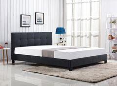 Кровать Кровать Halmar Oxford 160 (темно-серый)