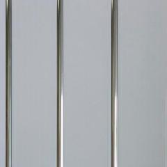 Панели ПВХ Панели ПВХ Олимпия Трехсекционная Серебро