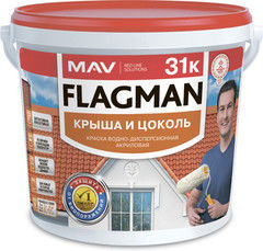Краска Краска Flagman (MAV) 31к зеленая (5л)