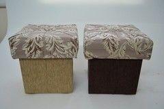 Пуфик Пуфик Вливск-Мебель 35х35х42 см с емкостью для хранения 39