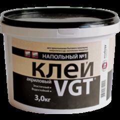 Клей Клей ВГТ Акриловый напольный №1 «Эконом» 3 кг