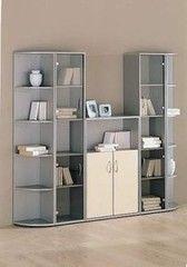 Шкаф офисный Алукар Пример 11