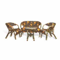 Комплект мебели из ротанга Calamus Rattan 01/20 Кубана