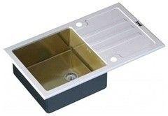 Мойка для кухни Мойка для кухни ZorG GL-7851 White-Bronze