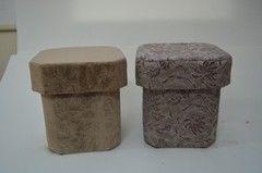 Пуфик Пуфик Вливск-Мебель 35х35х42 см с емкостью для хранения 23