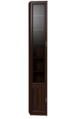 Глазовская мебельная фабрика Montpellier 7 для книг (орех шоколадный)
