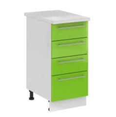 Кухонный шкаф Кухонный шкаф Интерьер-Центр Олива 400 с 4 ящиками