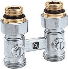 Фитинг для труб Arco Подключение для стальных радиаторов Teide G 1/2 - 3/4, прямой