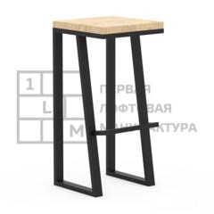 Барный стул Барный стул 1Loft S-0104 (Дубовый щит)