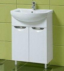 Мебель для ванной комнаты Акваль Тумба с умывальником Аврора 60