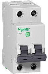 Schneider Electric Автоматический выключатель Easy9 2П 6A C 4,5 кА EZ9F34206