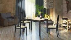 Обеденный стол Обеденный стол ТриЯ Диез Т11 раздвижной стол со стеклом