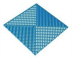 Альта-Профиль Универсальная решетка с дополнительным обрамлением синяя