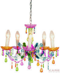 Светильник Светильник Kare Pendant Lamp Barock Rainbow 5 Lights 63266
