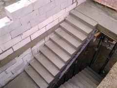 Лестница из бетона Монолит Пример 55