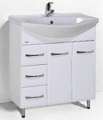 Мебель для ванной комнаты Акваль Тумба с умывальником Виола 80 R