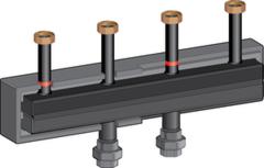 Комплектующие для систем водоснабжения и отопления Meibes Распределительный коллектор 66301.81