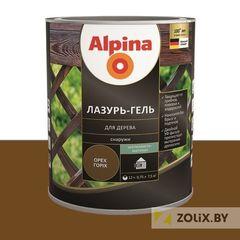 Защитный состав Защитный состав Alpina Лазурь-гель для дерева орех (2,5 л)