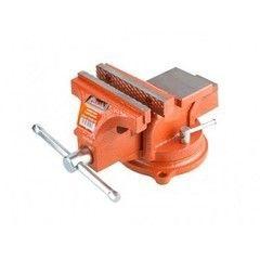 Столярный и слесарный инструмент Startul Тиски 100мм слесарные, поворотные MASTER (ST9450-100)