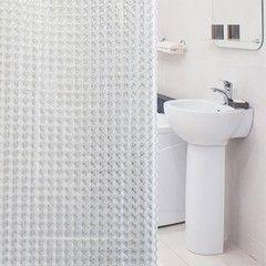 Tatkraft Шторка для ванной комнаты Chrystal 3D 18815