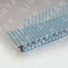 Профиль Профиль Lihtar Уголок перфорированный с сеткой 2.5м