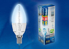 Лампа Лампа Uniel LED-C37-6W ALP