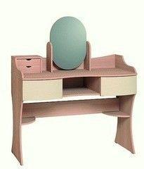 Туалетный столик Глазовская мебельная фабрика Амели 15 (дуб отбеленный)