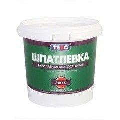 Шпатлевка Шпатлевка Текс Акрилатная влагостойкая Люкс 0.9 л