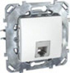 Schneider Electric телефонная Unica RJ11, белый MGU5.492.18ZD