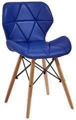 Кухонный стул Atreve Eliot (голубой/бук)