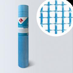 Стеклосетка, серпянка Lihtar Штукатурная синяя Extra (яч.5x5мм, 1x50м)