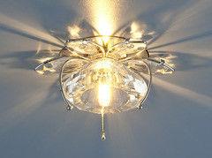 Встраиваемый светильник Elektrostandard 7291 хром (CH)