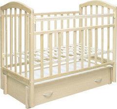 Детская кровать Кроватка Антел Алита 6 слоновая кость