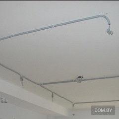 Услуга Монтаж электропроводки по потолку